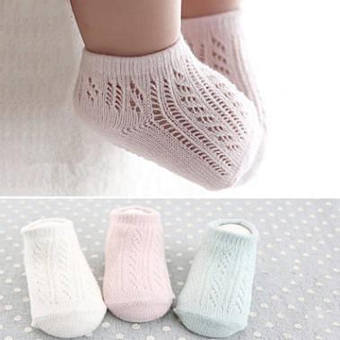 童襪 春夏款簍空網眼透氣薄款船襪(有防滑) B7B001 AIB小舖
