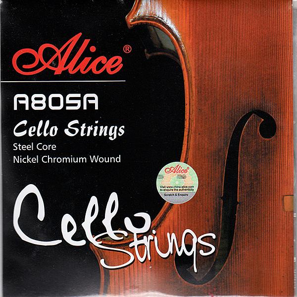 ★JYC Music★A805A 大提琴套弦~鋼芯鎳鉻合金纏弦