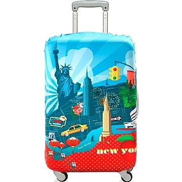LOQI 紐約 行李箱套 保護套 |【M號】