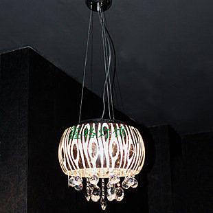 現代簡約低壓水晶燈