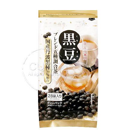 日本 京都茶農業協同組合 黑豆調合茶 140g 丹波茶 黑豆水 黑豆茶 沖泡飲品