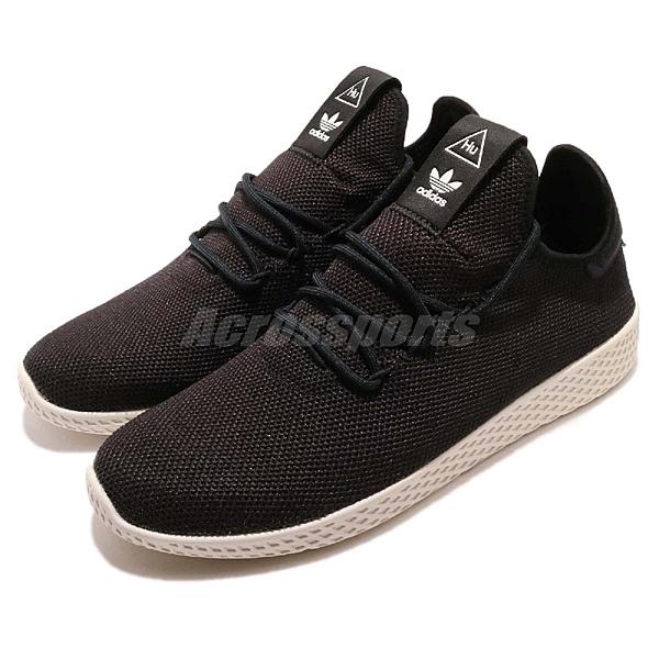 adidas 休閒鞋 PW Tennis Hu 黑 白 Pharrell Williams 聯名款 男鞋 女鞋 【ACS】 AQ1056