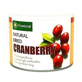 O'natural歐納丘純天然整顆蔓越莓乾 210g 一罐