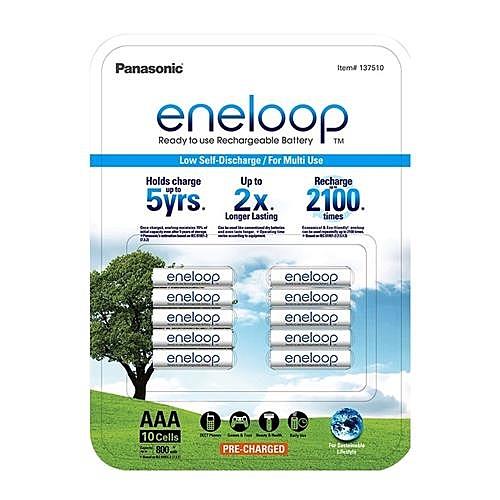 eneloop 四號充電電池10入