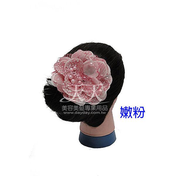 【飾品.鑽飾.舞台.新娘秘書】新娘頭花髮飾-串珠花蕊 [95541]
