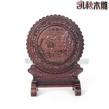 黑梓木雕刻黑檀工藝品擺件