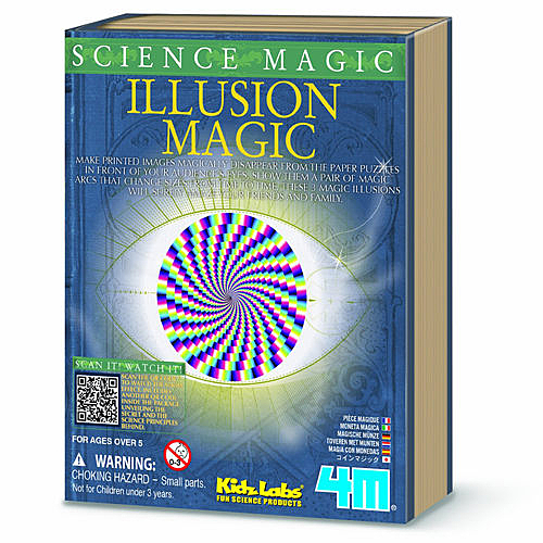 《4M科學探索》科學魔術 - Illusion Magic 幻象萬千  ╭★ JOYBUS玩具百貨
