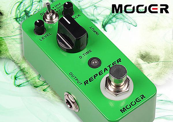 小叮噹的店- MOOER Repeater 延遲 單塊 效果器(MREG-RP)