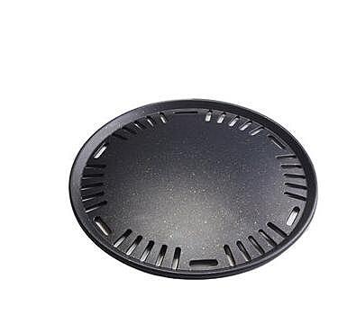 幸福居*韓式碳烤爐烤盤 專烤盤295mm 麥飯石不粘烤盤 烤肉盤 碳烤盤(33CM)