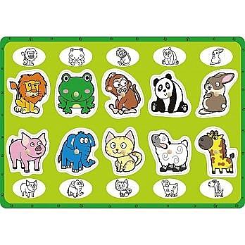 益智學習手抓板—動物點點名 上羊 (購潮8)