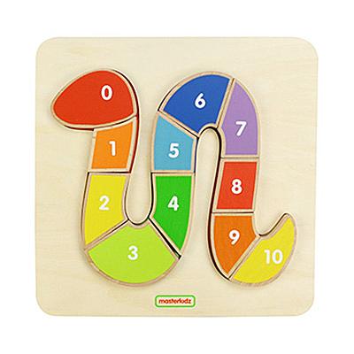 蛇形數字拼圖