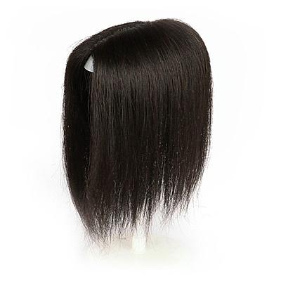 假髮片(真髮絲)-無痕大面積髮頂補髮女假髮73uf35【時尚巴黎】