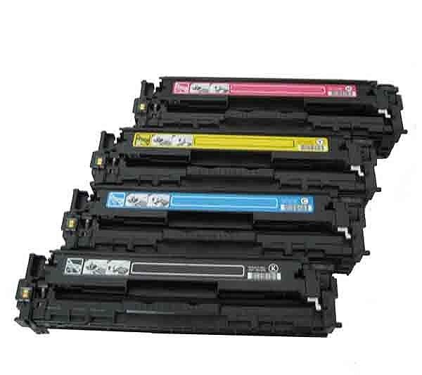 HP 環保碳粉匣CB541A藍色CB542A黃色CB543A 紅色(單個顏色任選)適CM1300/CM1312/CP1210/CP1510/CP1215/CP1515N/CP1518NI