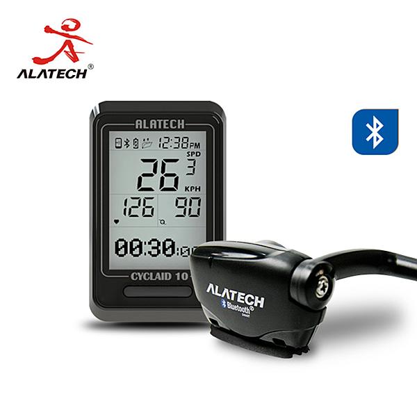 (超值組合,紀錄完整運動資訊) ALATECH 藍牙自行車錶踏頻器超值組 (CB300+SC001)