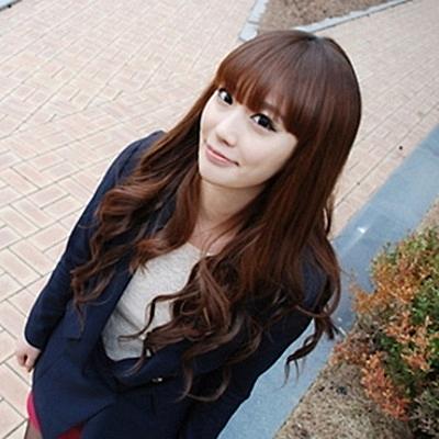 整頂假髮(長髮)-日韓蓬鬆性感魅力女假髮3色73ef49[時尚巴黎]