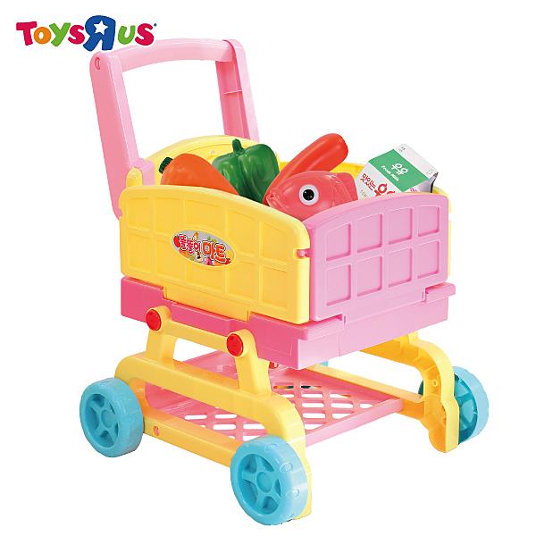 玩具反斗城   2in1可愛廚房手推車