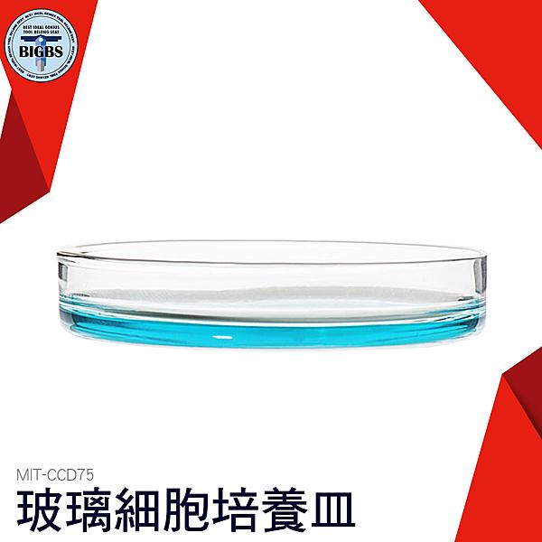 75mm 玻璃細胞培養皿 玻璃培養皿 玻璃平皿 細胞培養皿