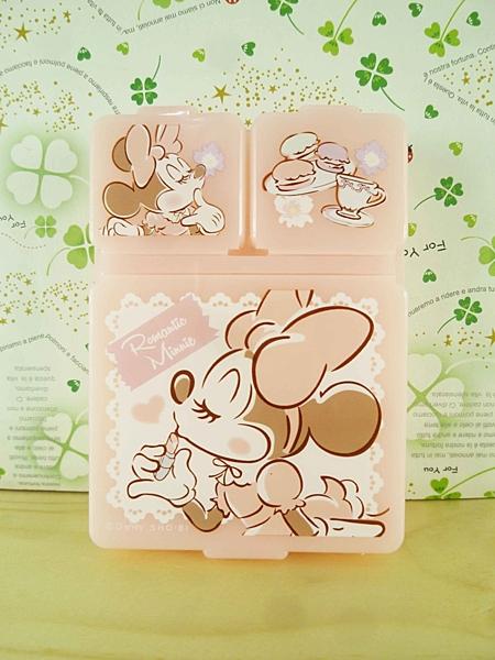 【震撼精品百貨】Micky Mouse_米奇/米妮 ~分隔盒-粉米妮