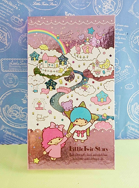 【震撼精品百貨】Little Twin Stars KiKi&LaLa 雙子星小天使~閃亮雷射版夾