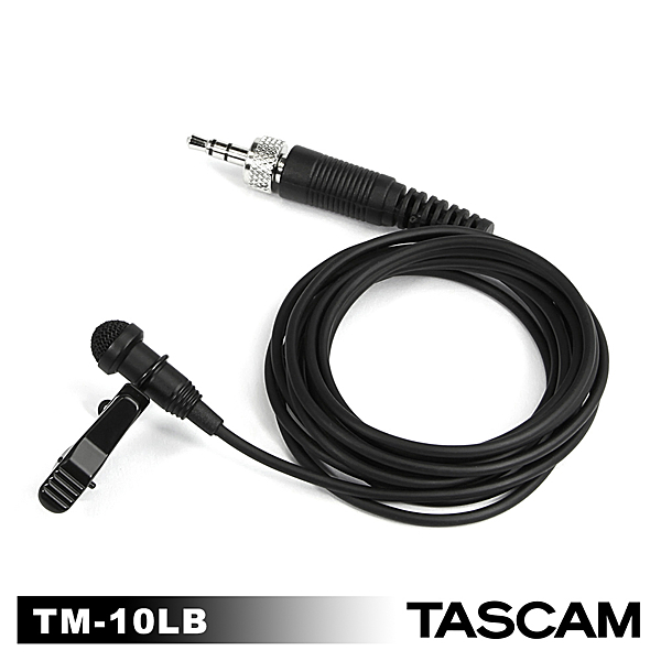 "【日本 TASCAM 】達斯冠 TM-10LB 領夾式麥克風 for DR-10L 需搭配1/8""錄音設備 正成公司貨"