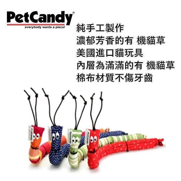 ★美國PetCandy.3038繽紛貓草毛毛蟲,純手工製作,濃郁芳香的有 機貓草,貓咪最愛,隨機出貨