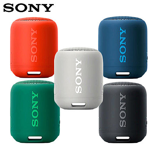 SONY 藍芽喇叭 SRS-XB12 防潑水 NFC 藍芽 喇叭 重低音 可串聯  公司貨