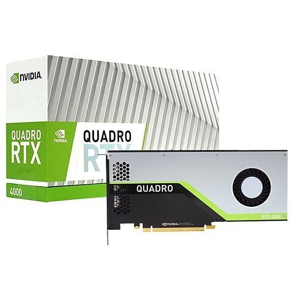 全新 麗臺 NVIDIA Quadro RTX4000 8GB GDDR6 PCI-E 工作站繪圖卡