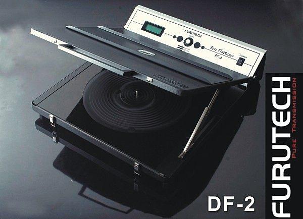 【竹北音響勝豐群】Furutech 古河 DF-2 黑膠唱片平整器