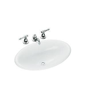 【麗室衛浴】美國 KOHLER Vintage 上崁盆 K-2220T-0