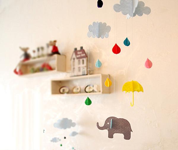 [韓風童品] 云朵水滴款派對裝飾 party裝飾 節慶佈置 生日派對場景布置 兒童房佈置 櫥窗佈置