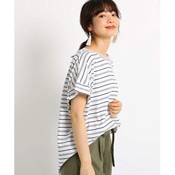 (ザ ショップ ティーケー) THE SHOP TK 【ゆるさら】変わり袖カットソー 04016521 11(S) オフホワイト(303)