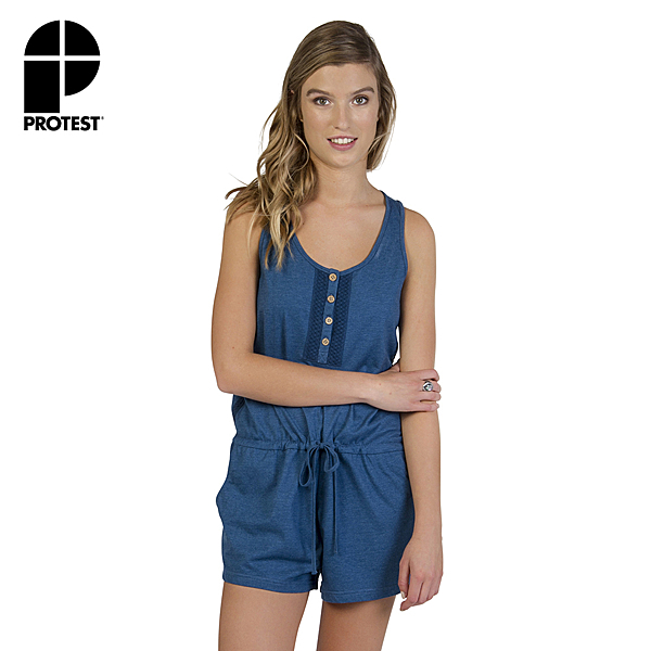 PROTEST 女 連身服 (氣體藍) AMORE PLAYSUIT