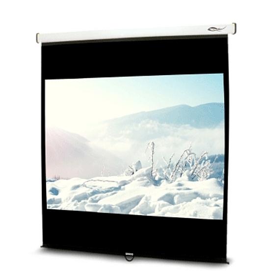 《名展影音》流線型輕巧 UNICO雅典娜系列CA-H100(16:10) 100吋手動席白壁掛布幕 安裝容易
