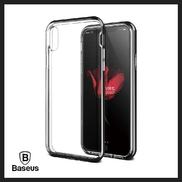 【Love Shop】VRSDESIGN iPhone X Crystal Bumper 雙層邊框透明保護殼 韓國原裝進
