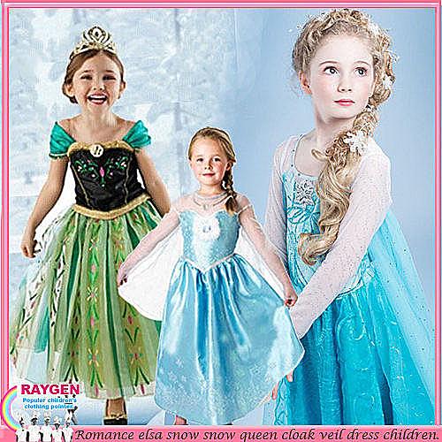 派對 角色扮演 萬聖節 造型 雪花 服裝 洋裝