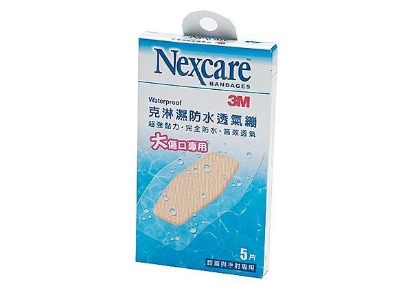 3M 克淋濕防水透氣繃特大5片入(6*8.8cm) *維康