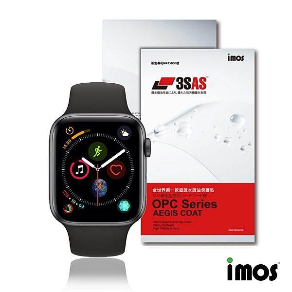imos Apple Watch 44mm 第四/五代《非滿版》超抗撥水疏水疏油效果保護貼-兩入