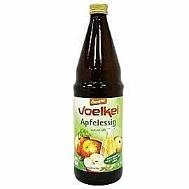 Voelkel~有機蘋果醋750毫升/罐