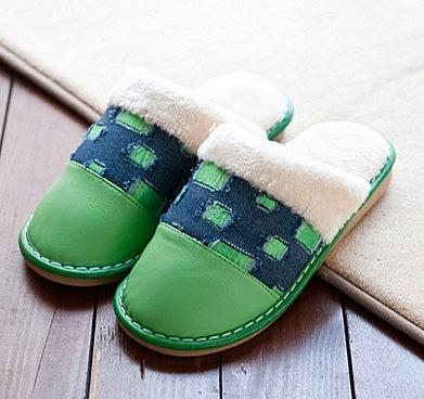冬季 包跟厚底 防滑 居家 拖鞋 防水保暖