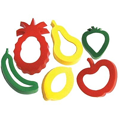 【華森葳兒童教玩具】美育教具系列-切模綜合組-水果 L1-AP/746/FC