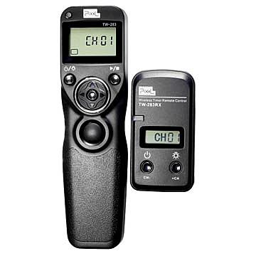 【聖影數位】Pixel TW-283/UC1無線定時快門遙控器/快門線Olympus:E620/E550/E520/E510/E450/E420/E410/E4公司貨