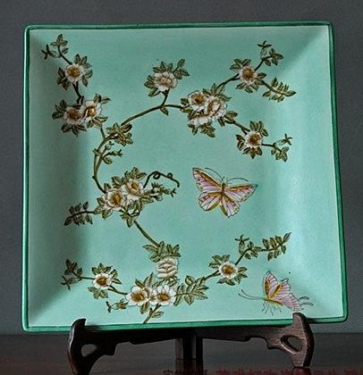 【協貿國際】景德鎮陶瓷粉彩裝飾盤家居飾品擺件
