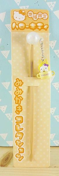 【震撼精品百貨】Hello Kitty 凱蒂貓~KITTY耳扒-地區限定系列-狐狸