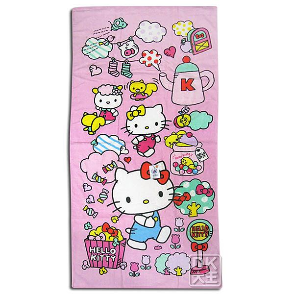Kitty 世界浴巾 ~DK襪子毛巾大王
