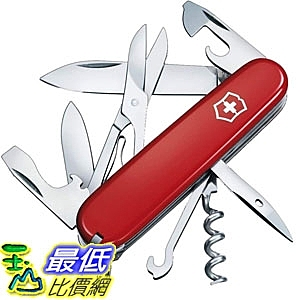 [7美國直購] 瑞士刀 Victorinox Swiss Army Climber Pocket Knife B00004YVBA