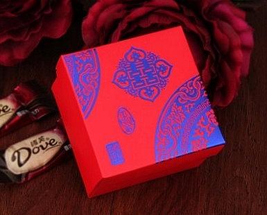 【協貿國際】小號喜糖盒子中國風婚禮創意糖果紙糖盒(50入)