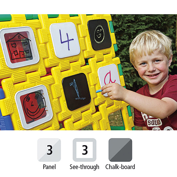 【華森葳兒童教玩具】建構積木系列-大英皇寶利智慧片-功能面板組 N9-70-7077