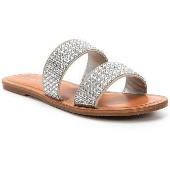 [ジアーニビニ] レディース サンダル Stola Jeweled Banded Flat Sandals [並行輸入品]