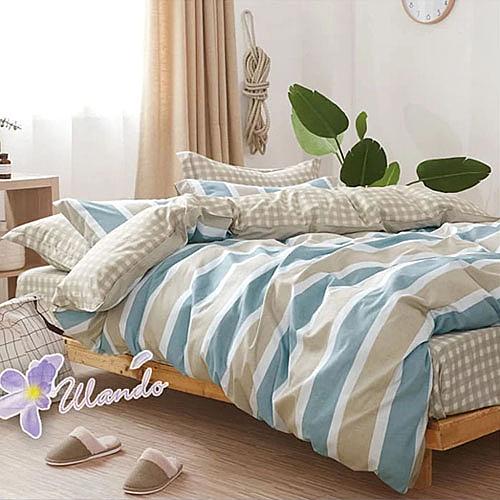 精梳棉四件式被套床包組 雙人加大-1組 (征服) 4947386001 【KP05008】 i-Style居家生活