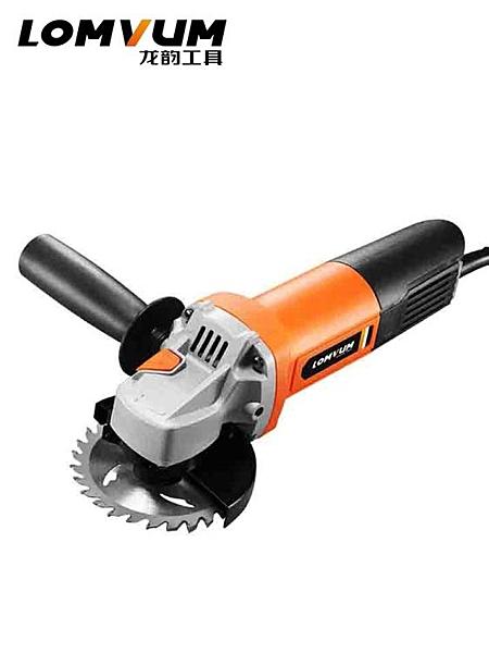 多功能工業級角磨機家用磨光手磨機打磨切割機手砂輪電動工具 露露日記